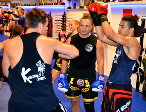 Kick Thai Boxing Juni 17 Aktion